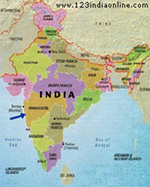 India Map.